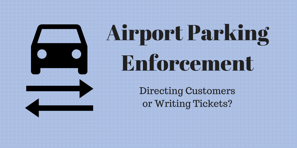 airport parking enforcement