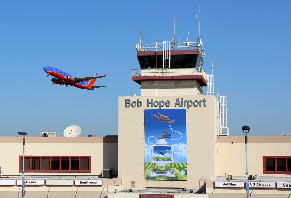 Bob Hope Airport Ridesharing