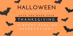 Thanksgiving Airport Parking Reservation