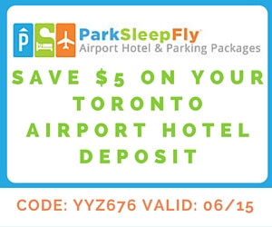 toronto airport parking coupon