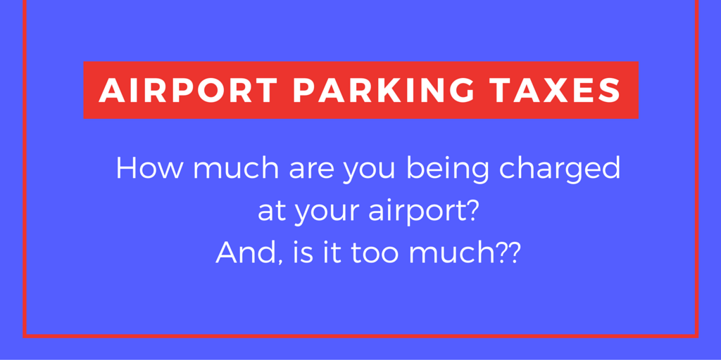 airport parking taxes