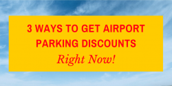 airport parking discounts
