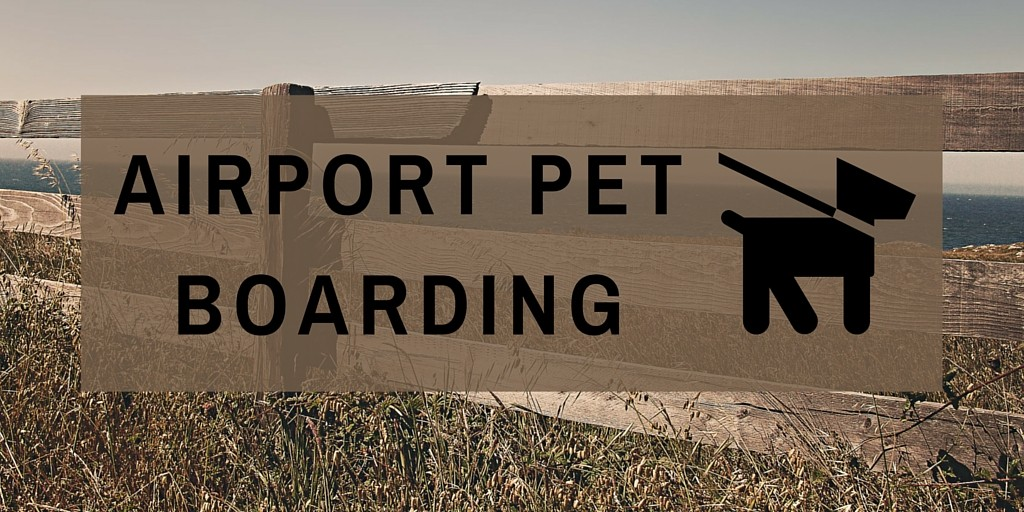 airport pet boarding